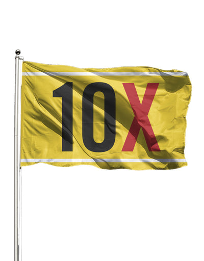 10X Flag (Indoor)