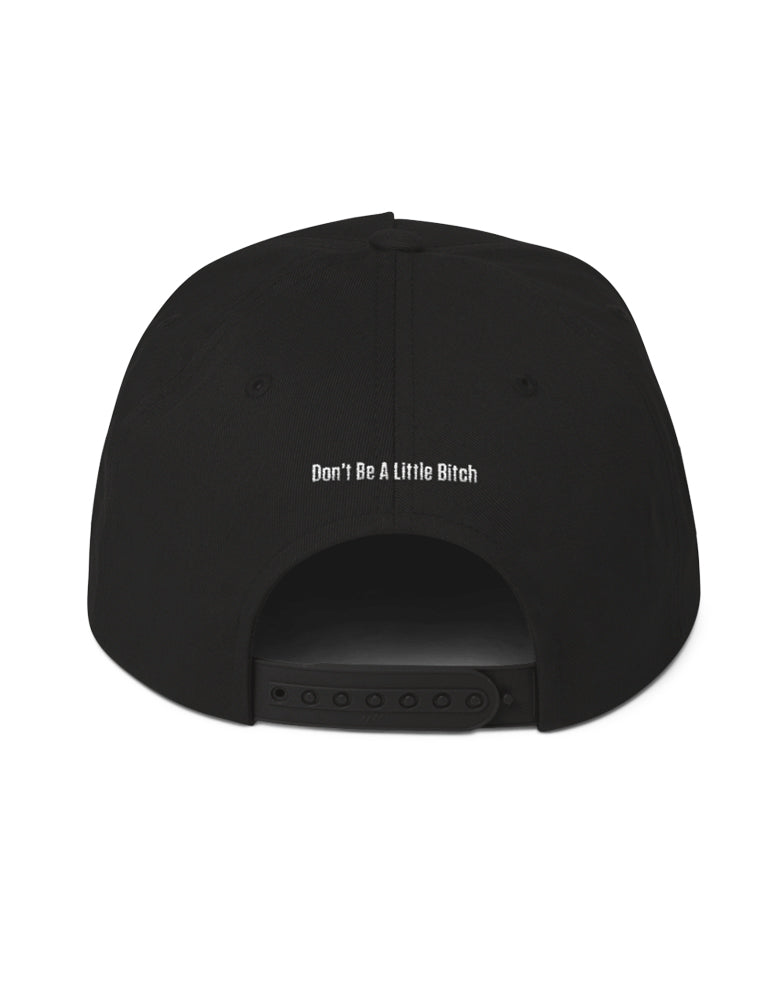 10X – Don't Be A Little Bitch – Black – Five Panel Snapback Hat