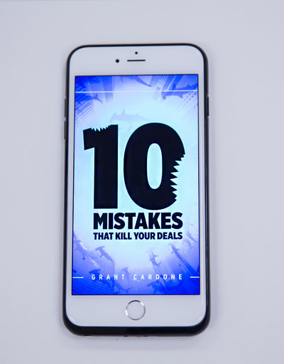 10 Mistakes That Kill Your Deals | eBook