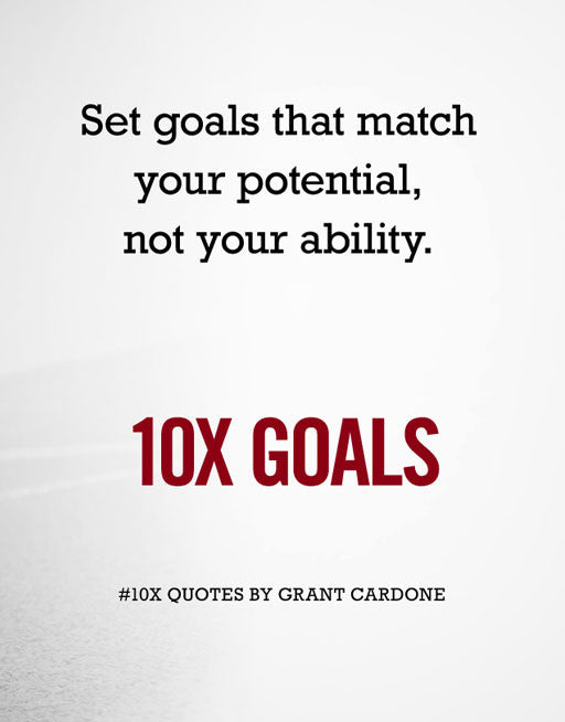 10X Goals Wallpaper Image