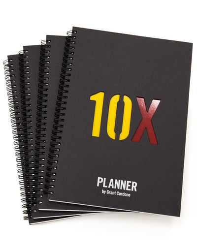 10X Daily Planner 4-Pack: : The Entrepreneur's Journal