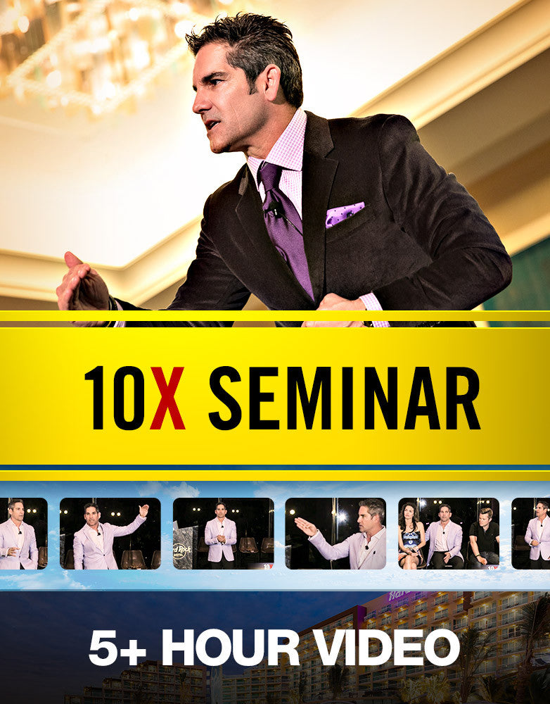 10X Your Life Cancun | Live Seminar