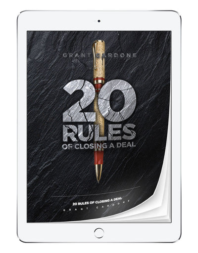 20 Rules of Closing For the Expert Closer | eBook