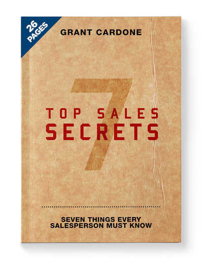 7 Top Sales Secrets | Webinar