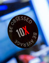 10X Be Obsessed Sticker [10 Pack]