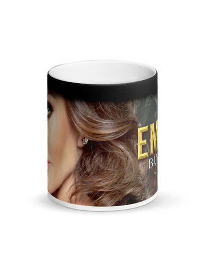 "Matte Black Magic Mug ""Build An Empire"""