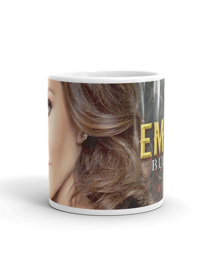 "White Glossy Mug ""Build An Empire"""