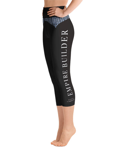 Empire Builder - Yoga Capri Leggings