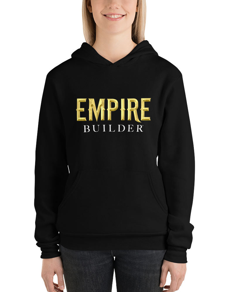 Empire Builder - Black Unisex hoodie