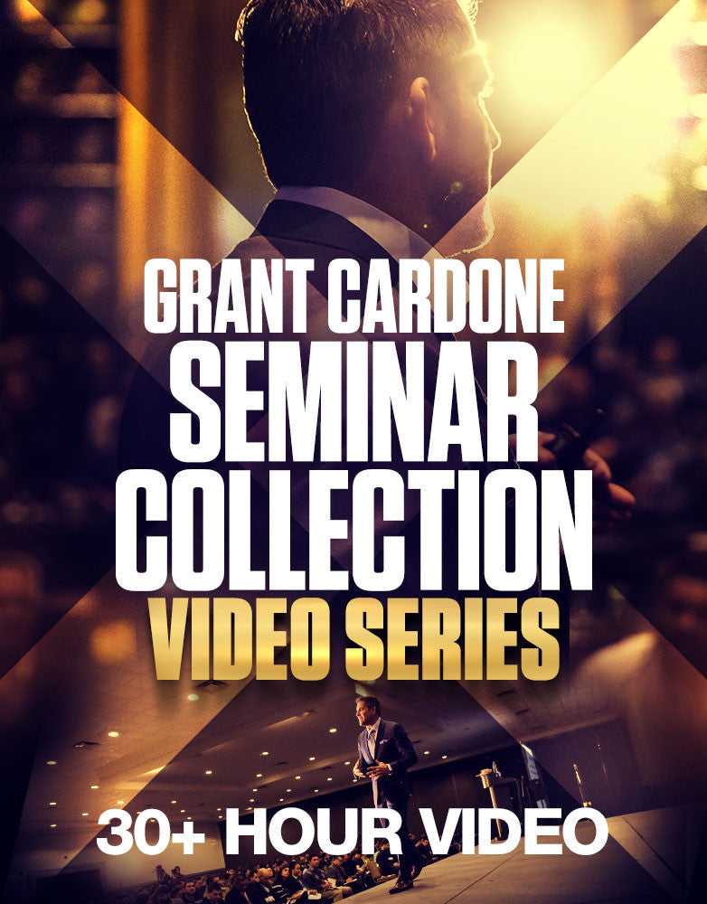Grant Cardone Seminar Collection Video Series