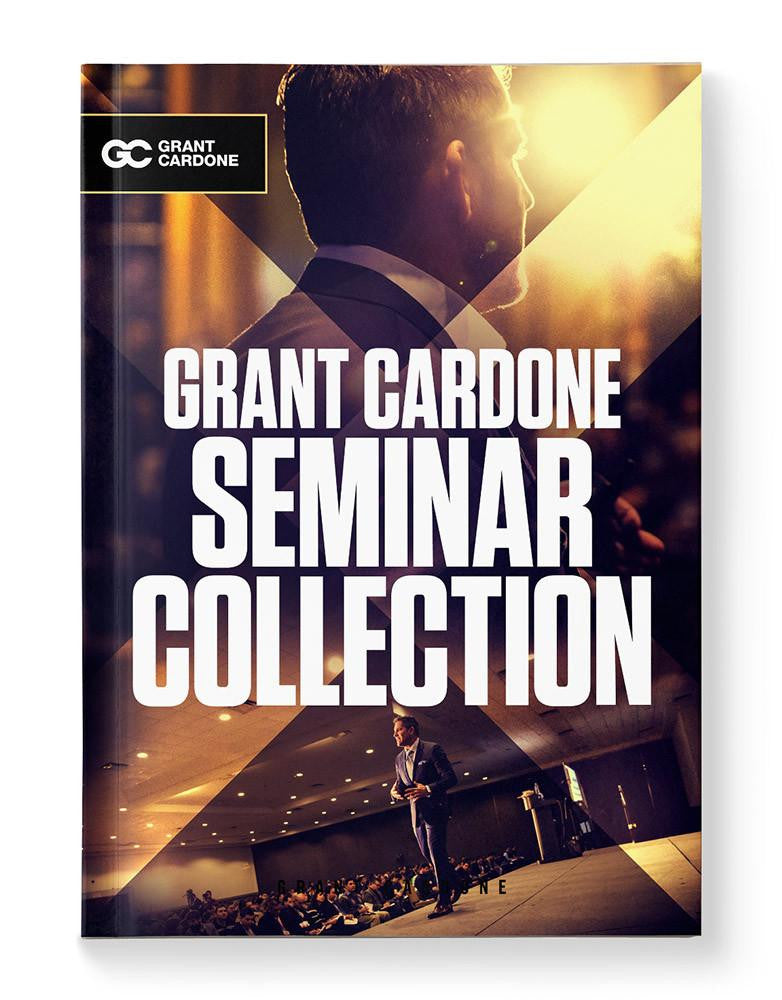 Grant Cardone Seminar Collection Book