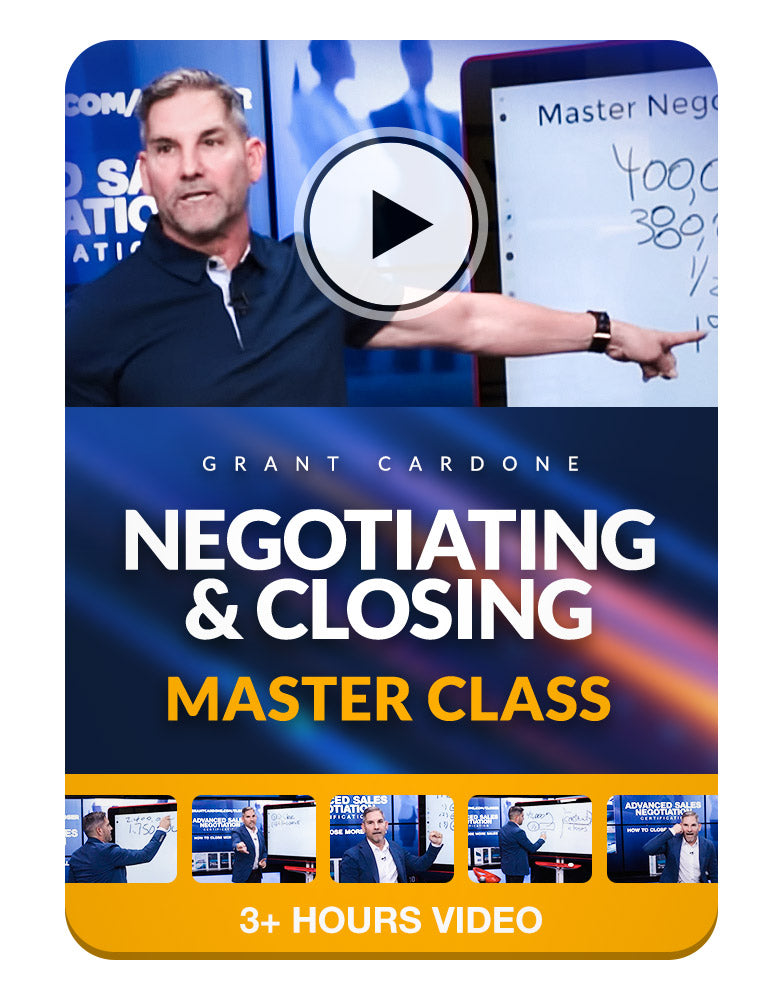 Negotiating and Closing Master Class