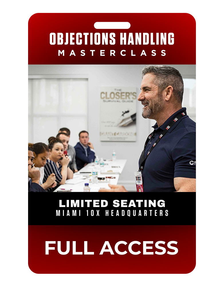 Objections Handling Masterclass