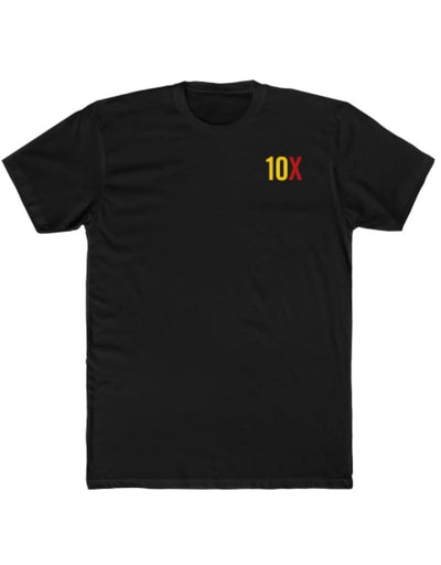 10X Obsessed - Yellow/Red Imprint - Premium Fitted Short-Sleeve T-Shirt