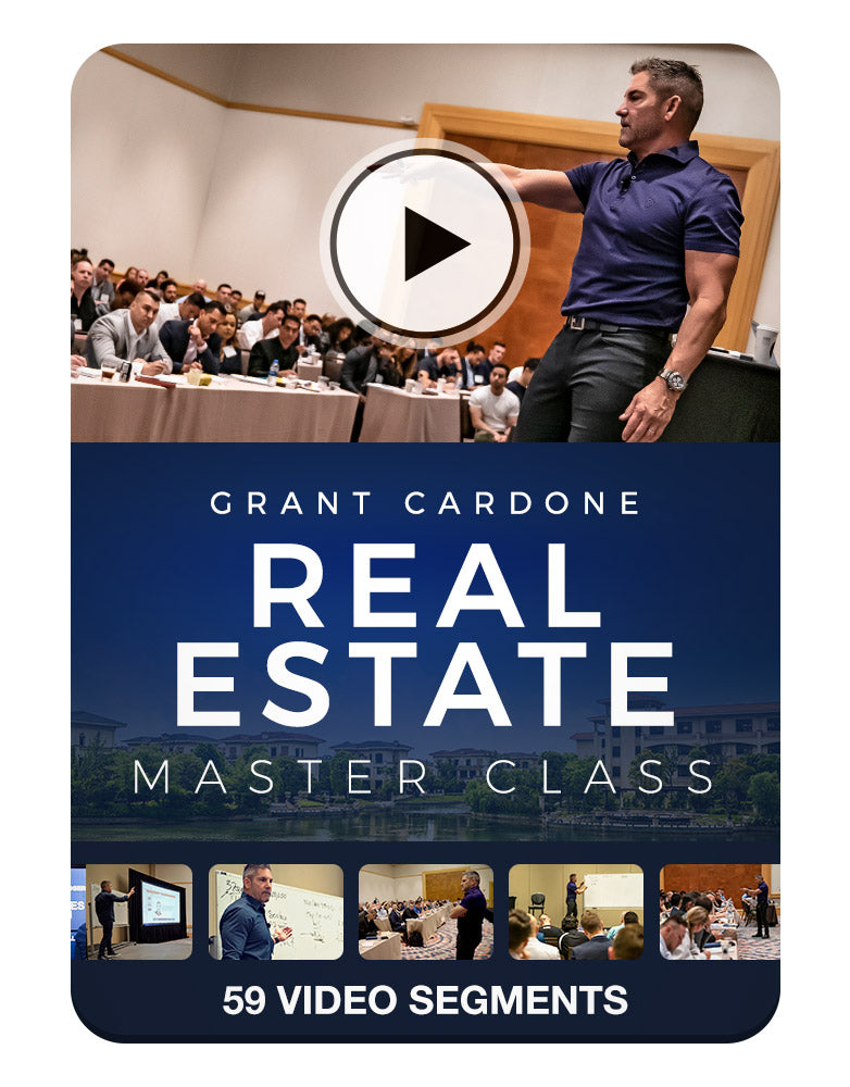 Grant Cardone Real Estate Master Class