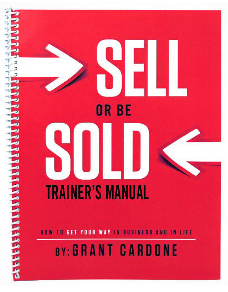 Sell or Be Sold Trainer's Manual eBook