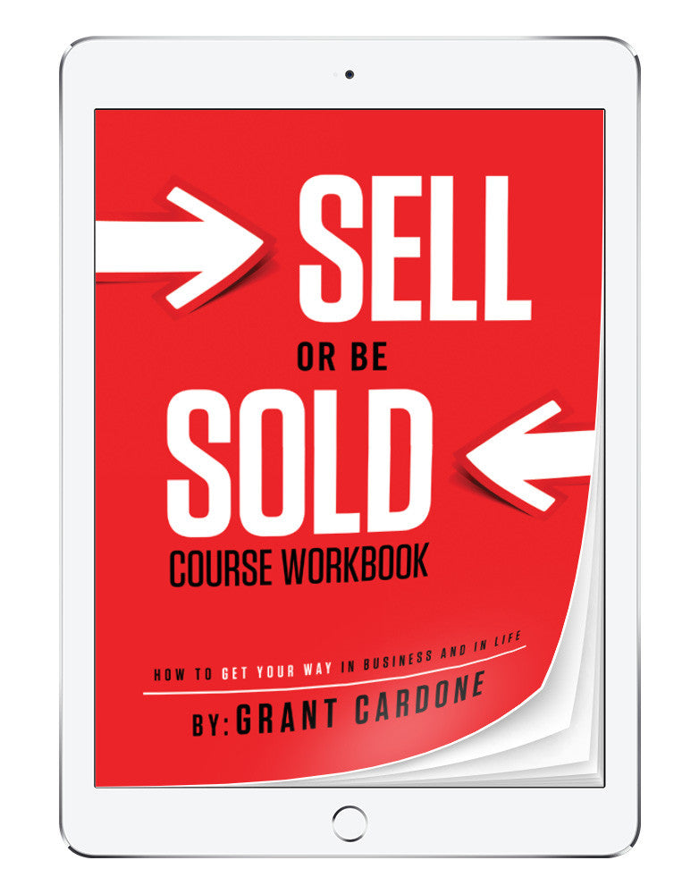 Sell or Be Sold Workbook | eBook
