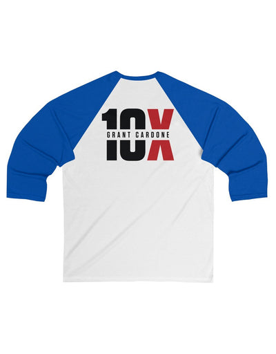 Success Is My Duty - 10X - 3/4 Sleeve Baseball Tee