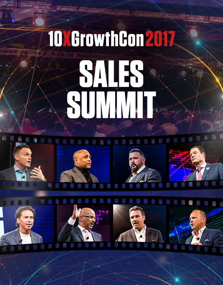 Sales Summit - 10X Growth Conference 2017