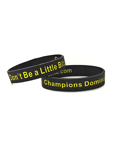 Don't Be a Little Bitch Wristband