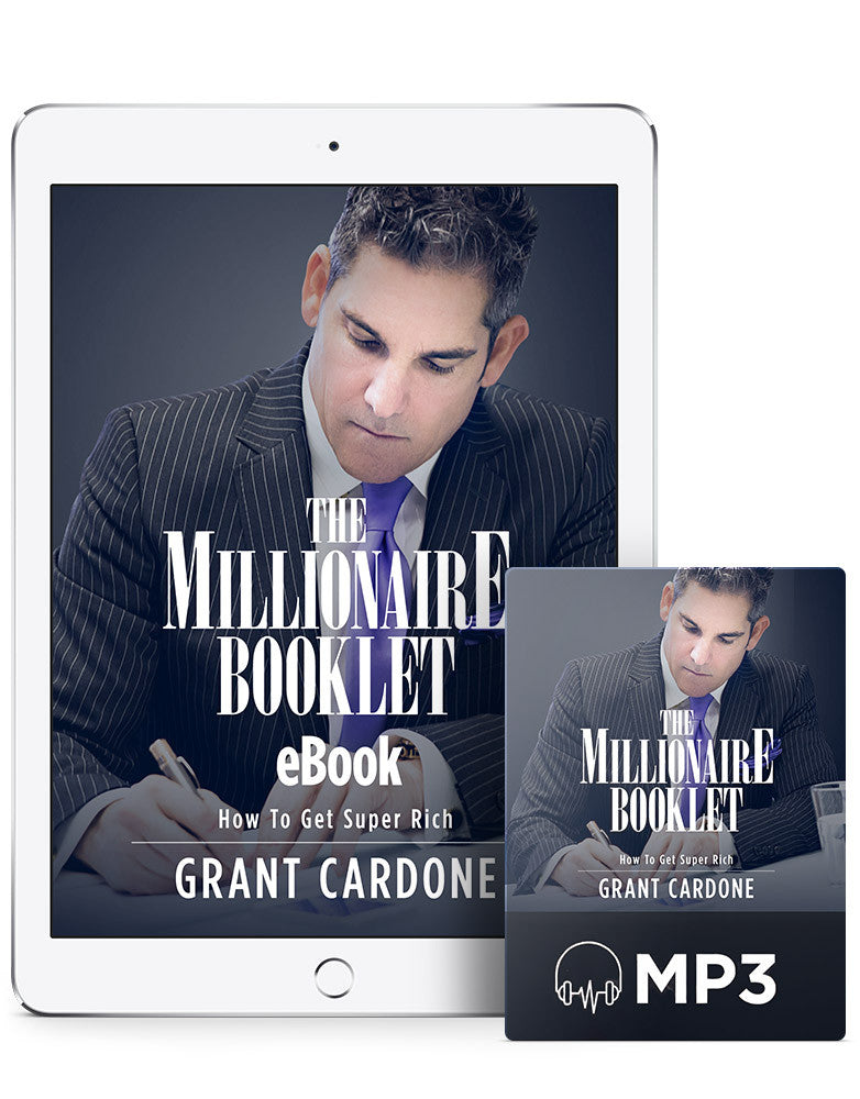 The Millionaire Booklet | eBook + MP3