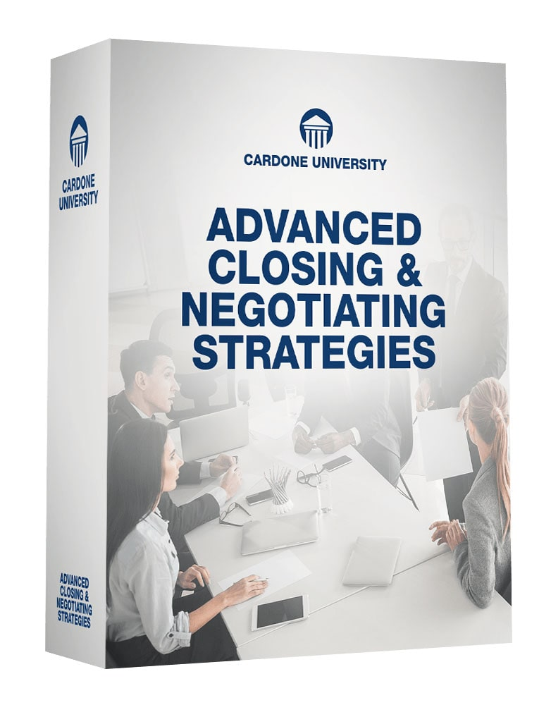 Advanced Closing & Negotiating Strategies