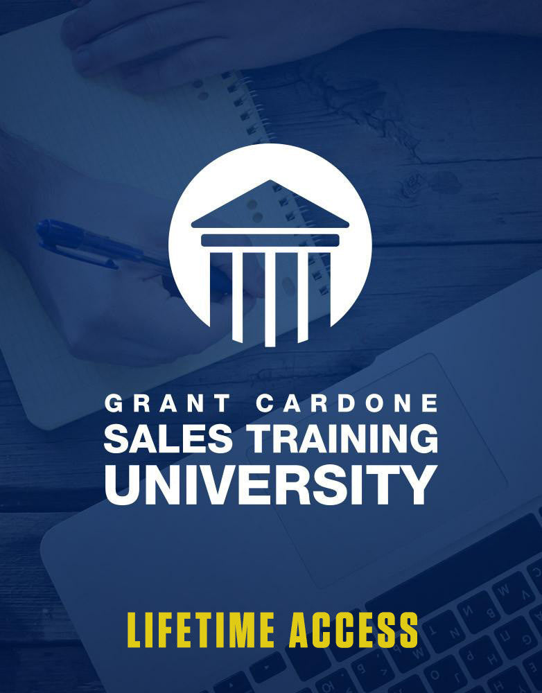 Grant Cardone Sales Training University - Lifetime Access