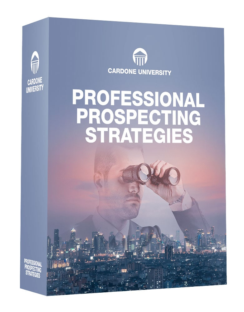Professional Prospecting Strategies