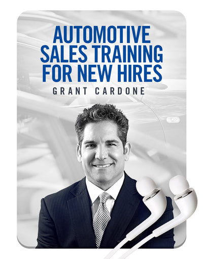 Automotive Sales Training for New Hires MP3