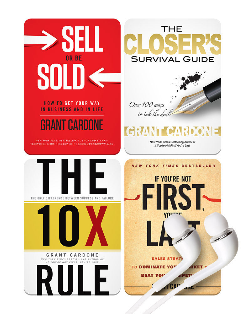 Grant Cardone's CORE MP3 Package