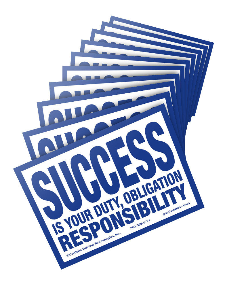 Success Postcards [10 Pack]