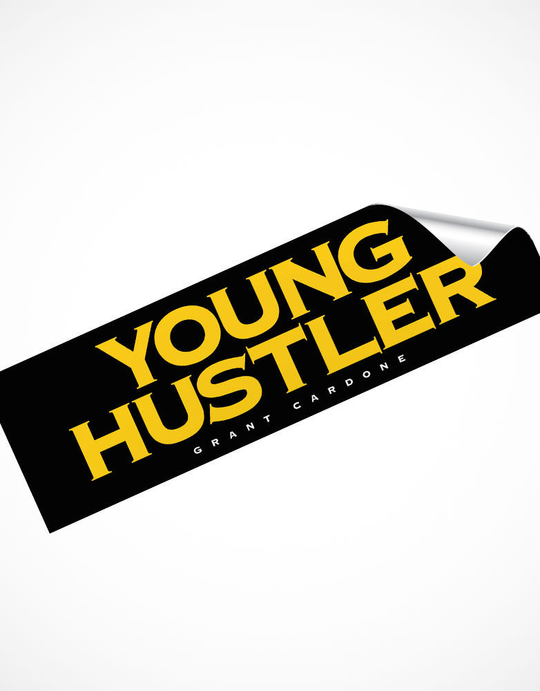 Young Hustlers Motivational Sticker