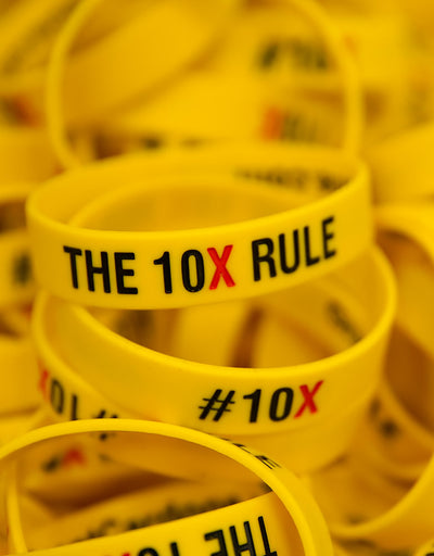 The 10X Rule Wristband