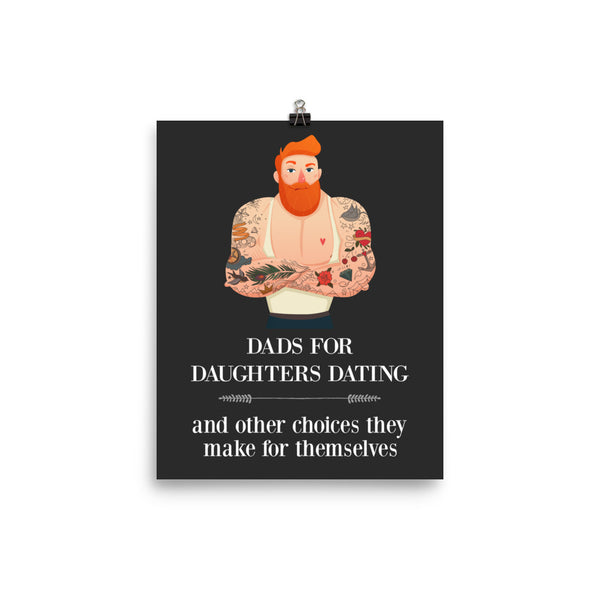 DADS FOR DAUGHTERS DATING POSTER