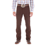 Wrangler Men's Wrancher Brown Dress Jean