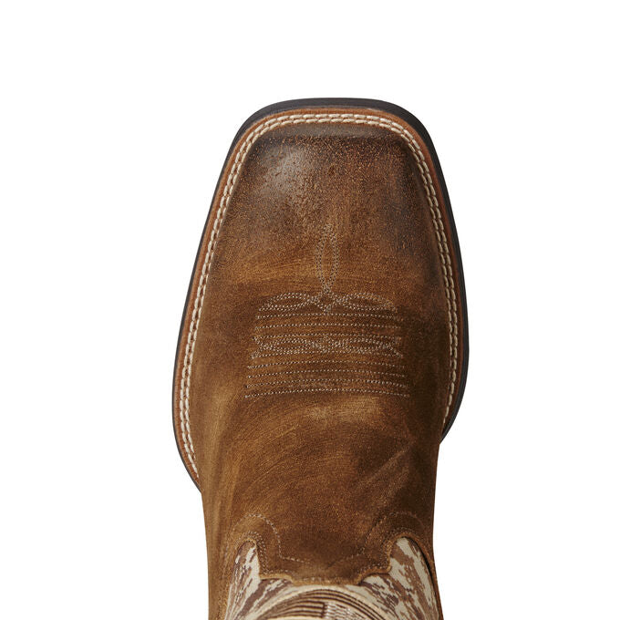 ARIAT ANTIQUE MOCHA AMERICAN FLAG BOOT