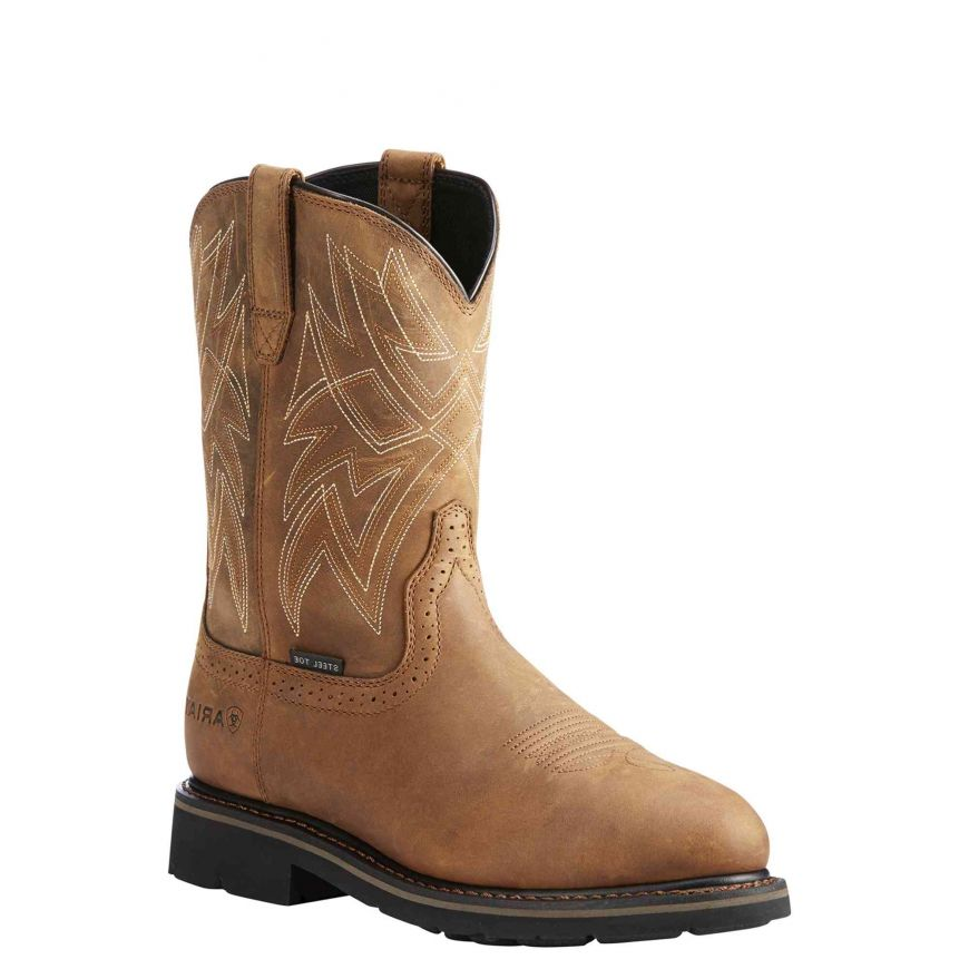 Ariat Sierra Everett Waterproof Steel Toe Work Boots