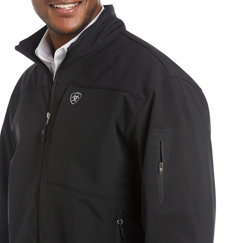 Ariat Men's Black Vernon 2.0 Softshell Jacket
