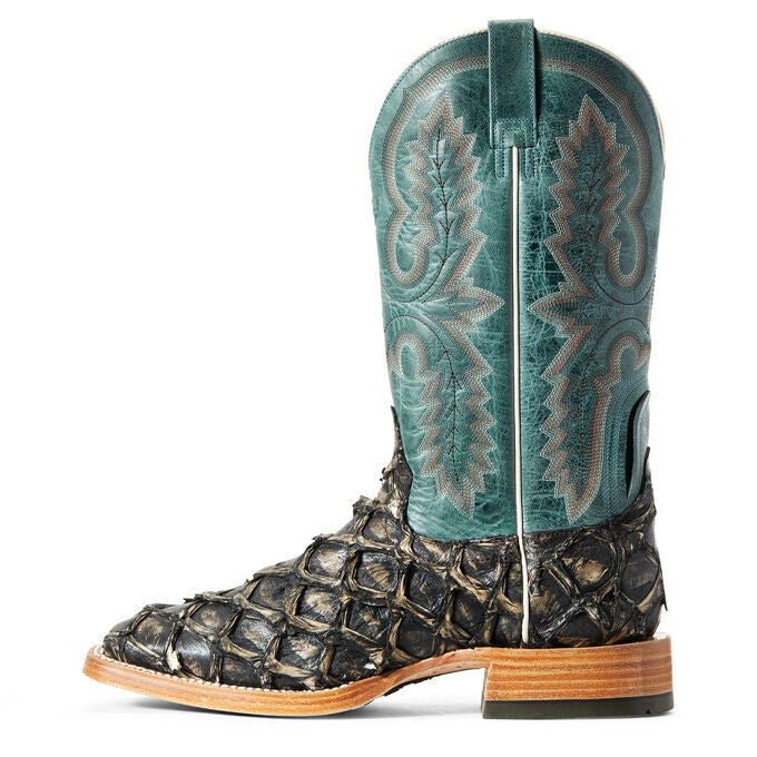 ARIAT MEN'S DEEP WATER PIRARUCU FISH BOOT
