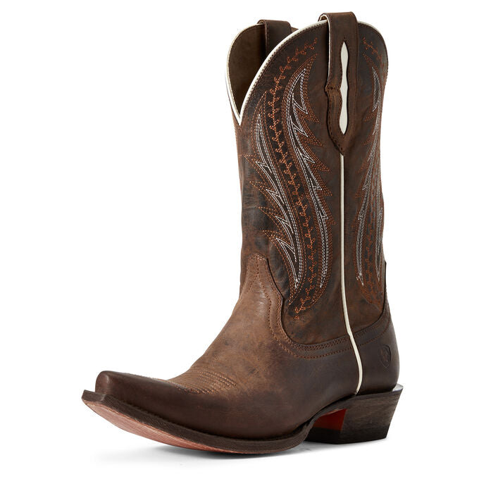 ARIAT LADIES WEATHERED RUST TAILGATE BOOT