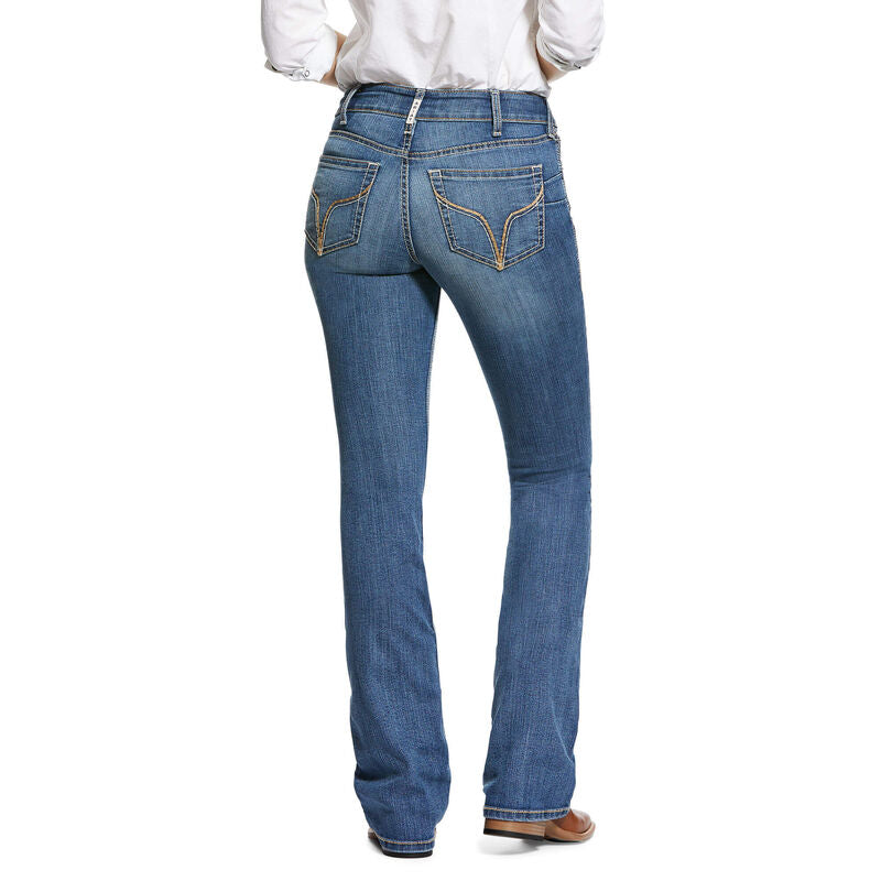 Ariat Ladies R.E.A.L. Perfect Rise Stretch Rachael Boot Cut Jean
