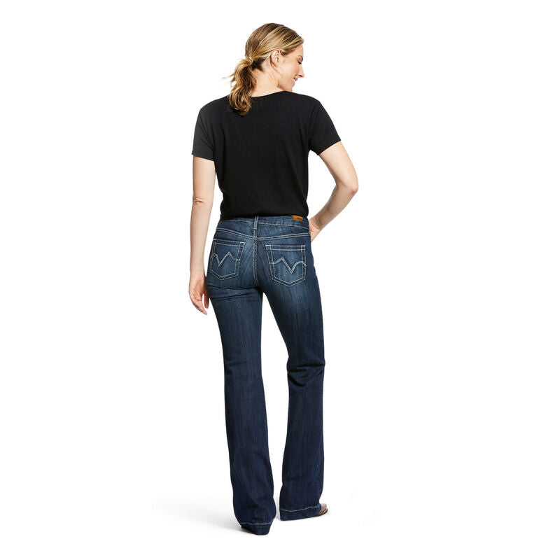 Ariat Ladies Bianca Trouser Perfect Rise Stretch Wide Leg Jean