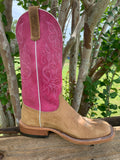 ANDERSON BEAN MEN'S DISTRESSED AMERICAN BUFFALO PINK SENSATION BOOT