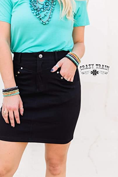 LAWMAKER BLACK SKIRT
