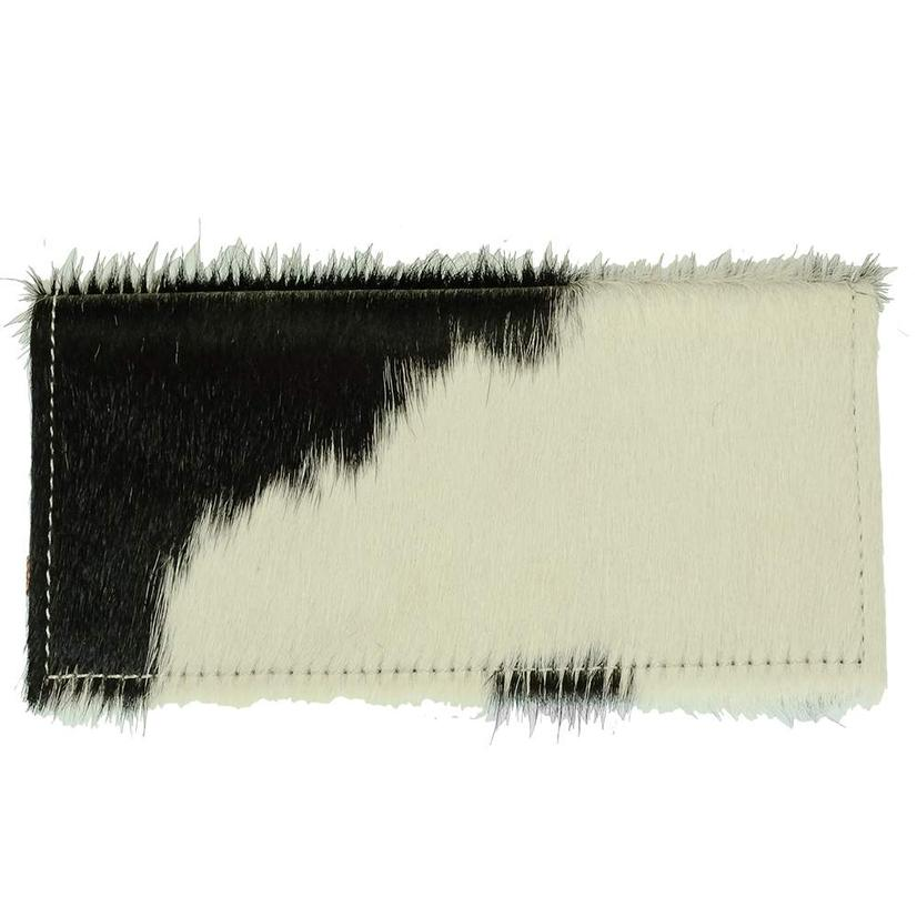 AMERICAN DARLING BLACK & WHITE HIDE WALLET