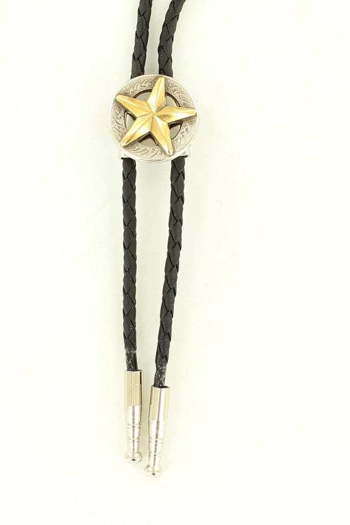 Double S Youth Texas Star Bolo Tie