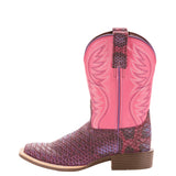 ARIAT GIRLS' LAVENDER BRUMBY BOOT