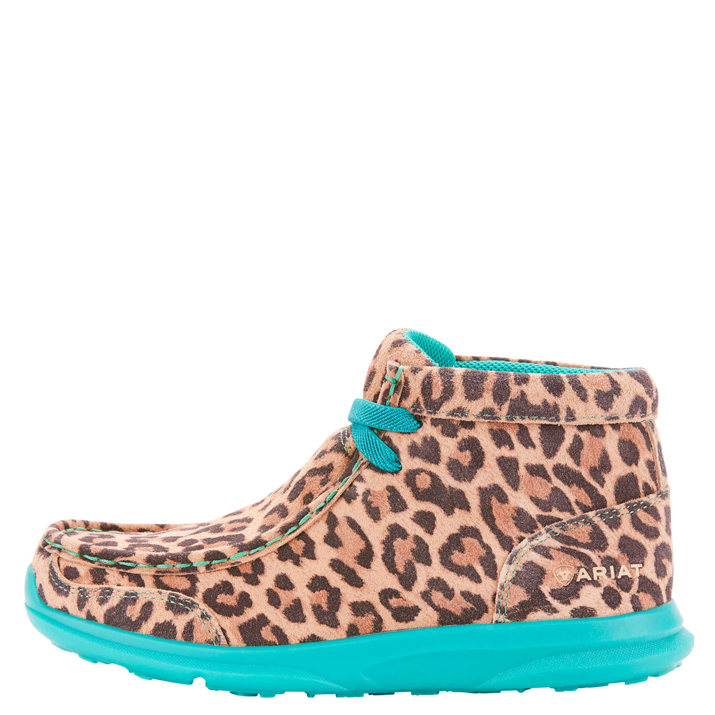 ARIAT GIRLS' LEOPARD SPITFIRE