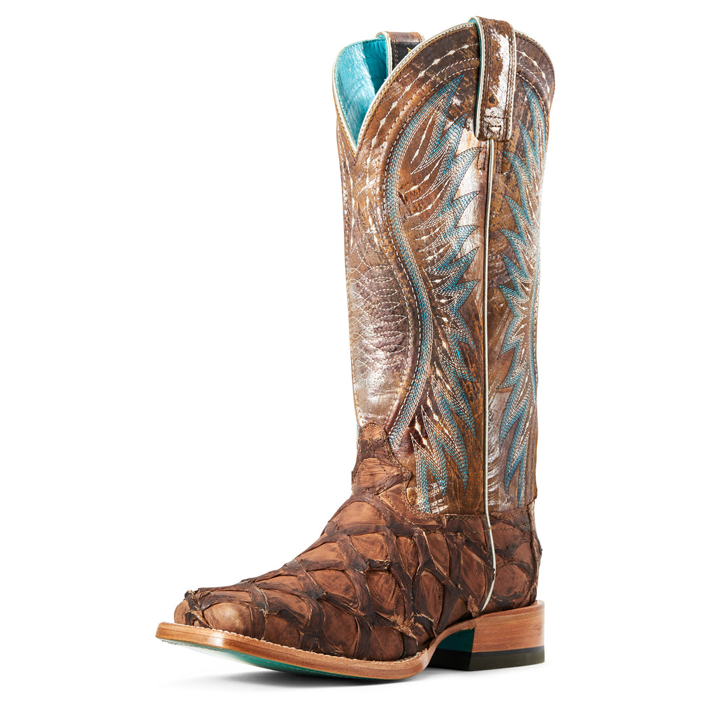 ARIAT LADIES VAQUERA PIRARUCU BOOT