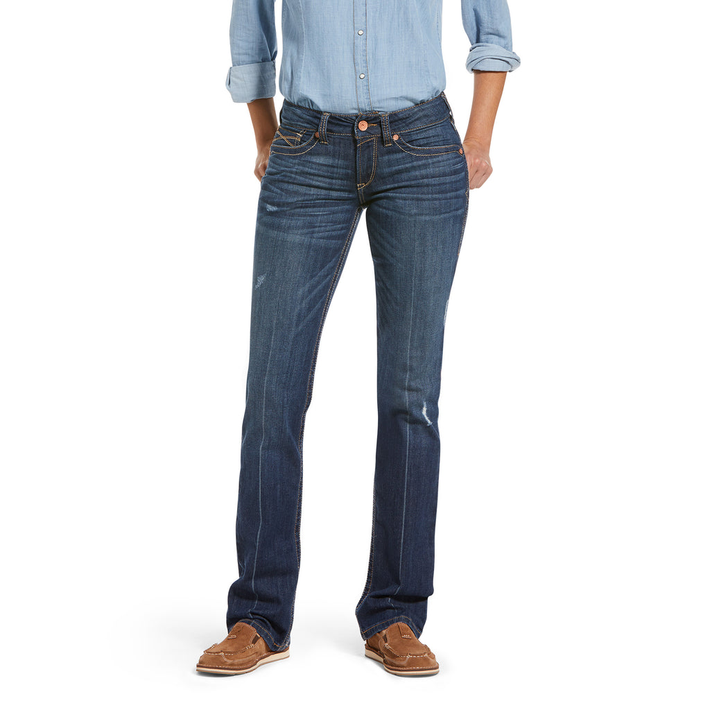 ARIAT REAL PERFECT RISE CAMILLA NATALIA BOOT CUT JEAN